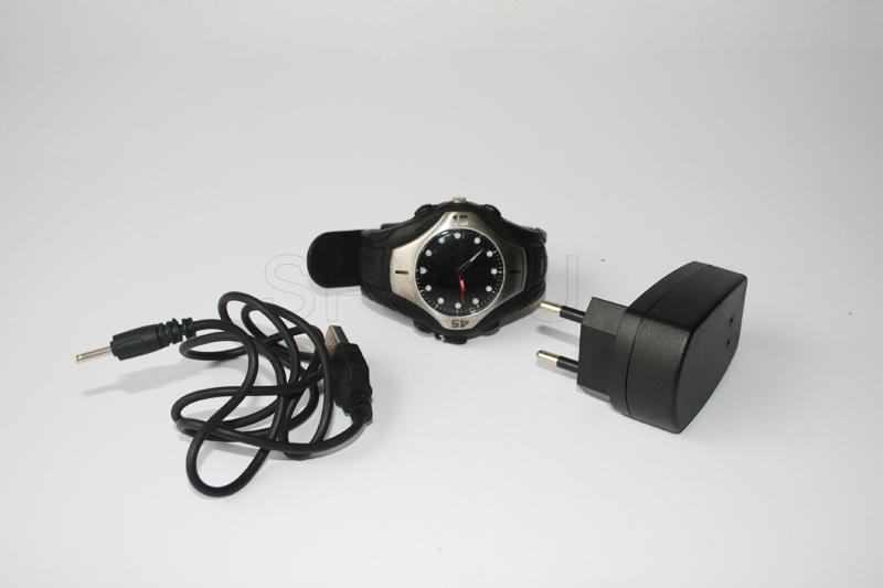 BC18 - Kit 2.4GHz wireless watch camera - Super thin & light mini DVR with 3.5
