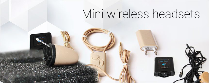 Mini wireless headsets